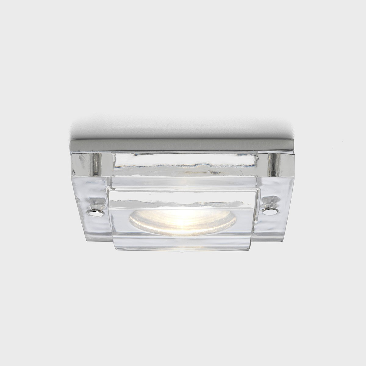 Astro Mint Square MR16 Polished Chrome Fire Rated Bathroom Downlight