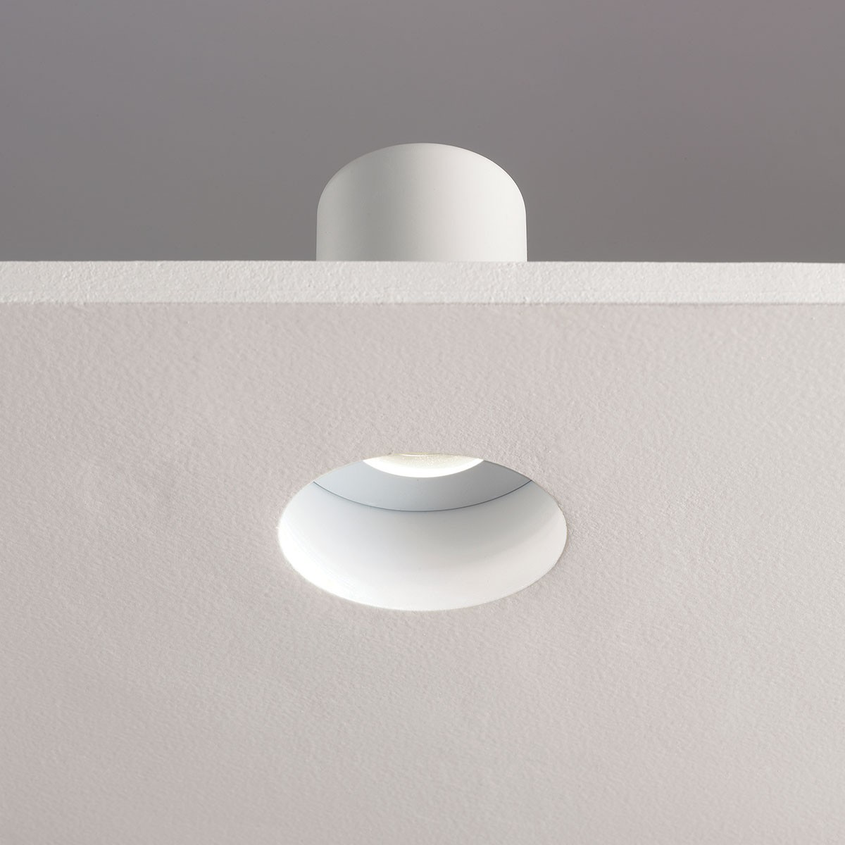 Astro Trimless Round Mr16 White Bathroom Downlight At Uk Electrical Supplies