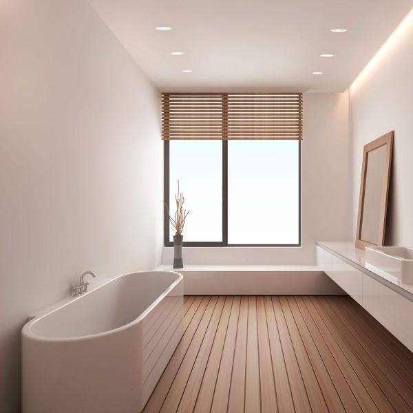 Astro Trimless Round GU10 White Bathroom Downlight - UK ...