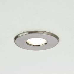 Astro Kamo GU10 Brushed Nickel Bathroom Downlight