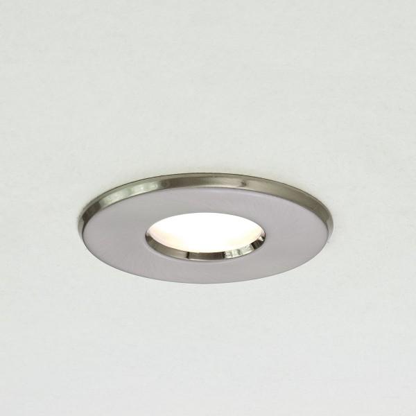 Astro Kamo GU10 Brushed Nickel Bathroom Downlight