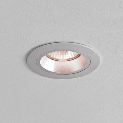 Astro Taro Round GU10 Brushed Aluminium Fire-Rated Downlight
