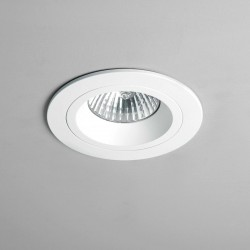 Astro Taro Round GU10 White Fire-Rated Downlight