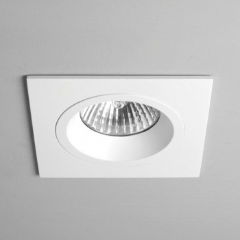Astro Taro Square GU10 White Fire-Rated Downlight
