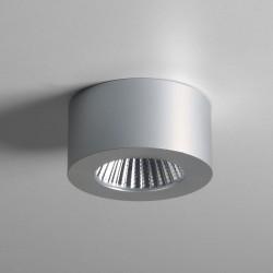 Astro Samos Round LED Anodised Aluminium Wall Light