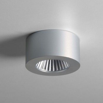 Astro Samos 3000K Round Anodised Aluminium LED Downlight