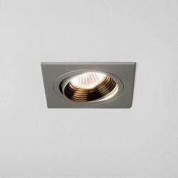 Astro Aprilia Square LED Anodised Aluminium Adjustable Downlight - 3000K