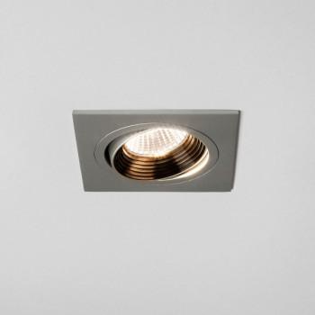 Astro Aprilia 7W 3000K Square Anodised Aluminium Adjustable LED Downlight