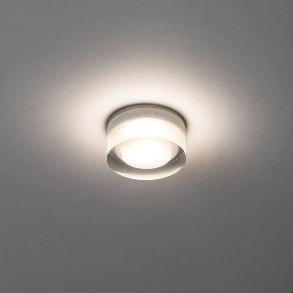 Astro Vancouver 45 Round LED Polished Chrome Bathroom Downlight at ...