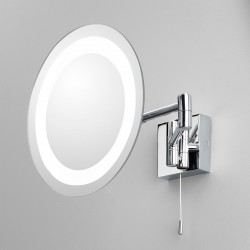 Astro Genova Polished Chrome Bathroom Mirror Light
