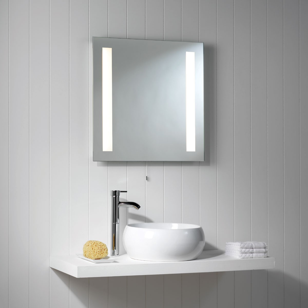 Astro galaxy bathroom mirror light at uk electrical supplies for Lights for bathroom mirror
