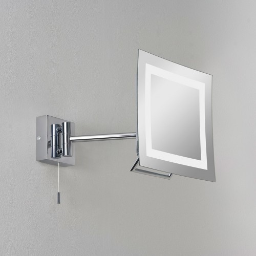 Astro Niro Polished Chrome Bathroom Mirror Light