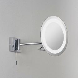 Astro Gena Polished Chrome Bathroom Mirror Light