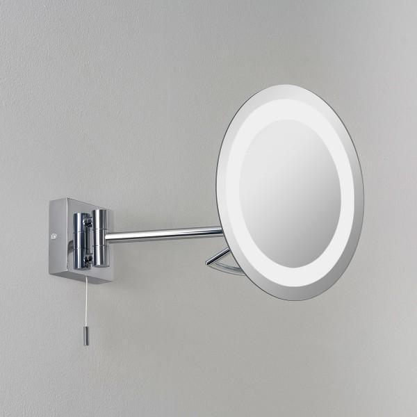 Astro Gena Polished Chrome Bathroom Mirror Light