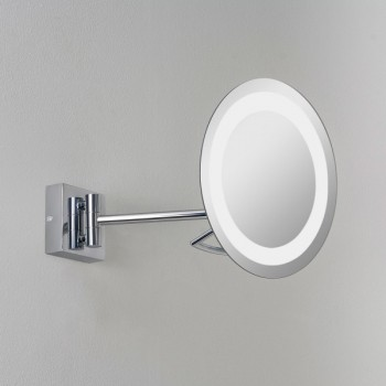 Astro Gena Plus Polished Chrome Bathroom Mirror Light