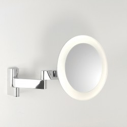 Astro Niimi Round Polished Chrome LED Bathroom Mirror Light