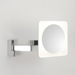 Astro Niimi Square Polished Chrome LED Bathroom Mirror Light