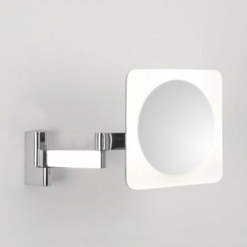 Astro Niimi Square Polished Chrome LED Bathroom Mirror Light