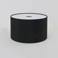 Astro Drum 420 Black Fabric Shade
