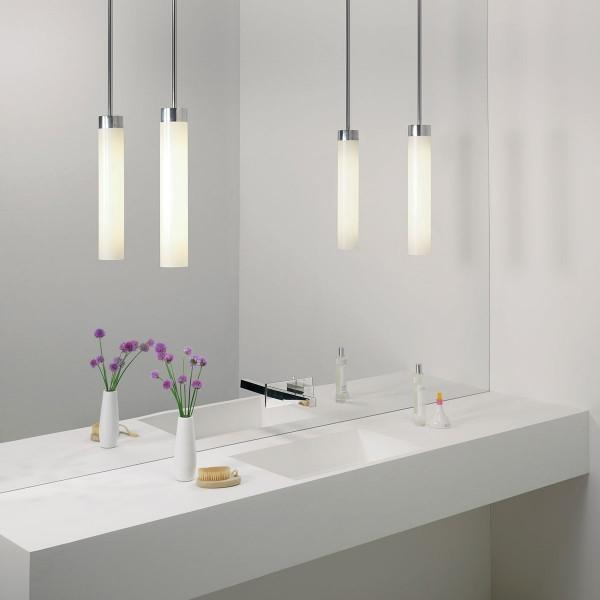 Astro Kyoto Polished Chrome Bathroom Pendant Light