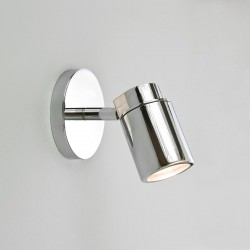 Astro Como Single Polished Chrome Bathroom Spotlight