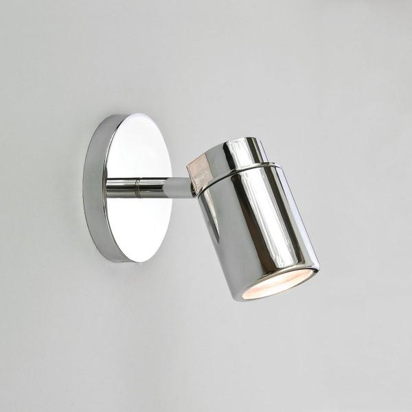 Astro Como Single Polished Chrome Bathroom Spotlight