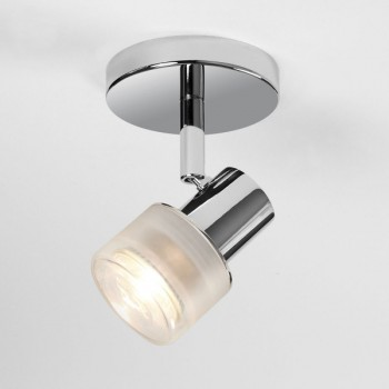Astro Tokai Single Polished Chrome Bathroom Spotlight