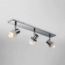Astro Tokai Triple Bar Polished Chrome Bathroom Spotlight