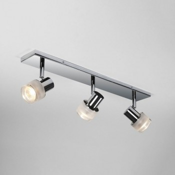 Astro Tokai Triple Bar Polished Chrome Bathroom Spotlight