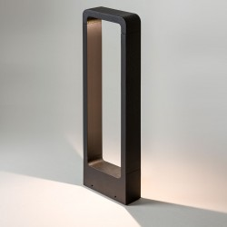 Astro Napier 650 Black Outdoor LED Bollard Light