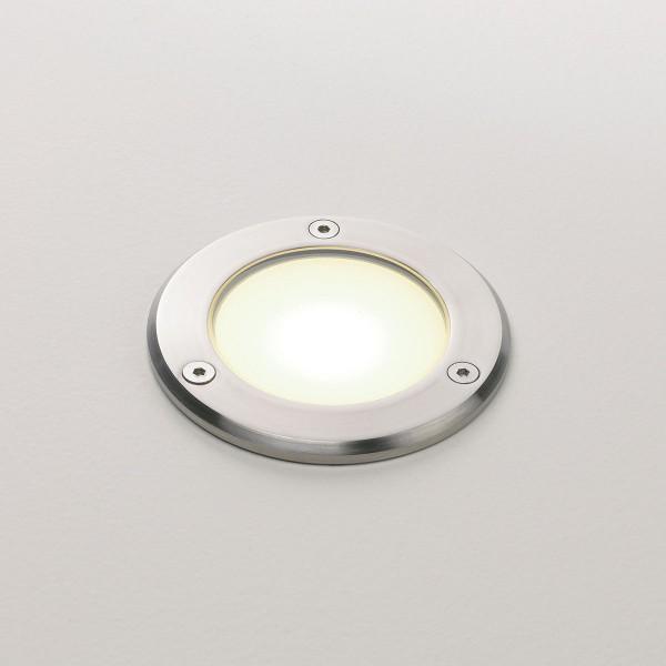 Astro Terra 90 Stainless Steel Outdoor LED Ground Light