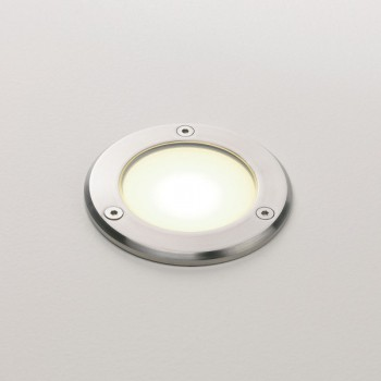 Astro Terra 90 Stainless Steel Outdoor LED Ground Light