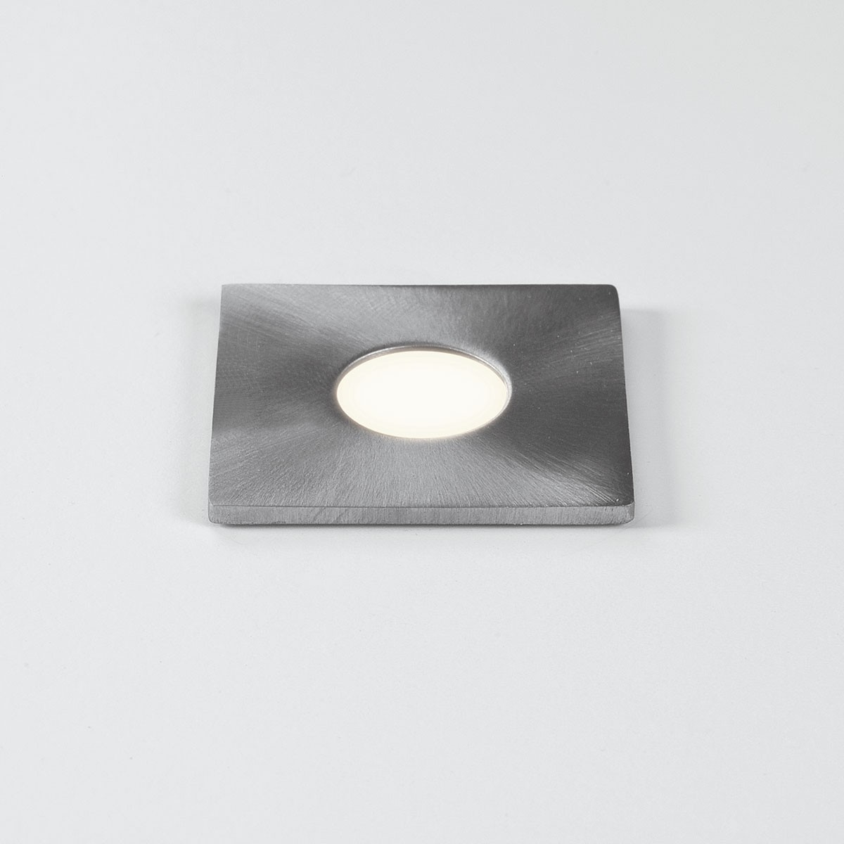 Astro Terra 28 Square Brushed Stainless Steel Bathroom Led Wall Light At Uk Electrical Supplies