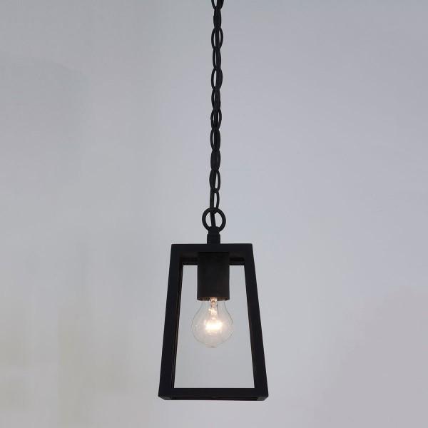 Astro Calvi Black Outdoor Pendant Light