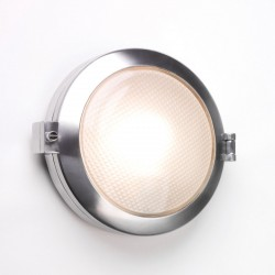 Astro Toronto Round Polished Aluminium Bathroom Wall Light