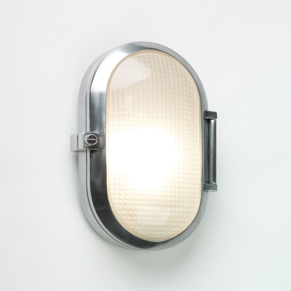Astro Toronto Oval Polished Aluminium Bathroom Wall Light