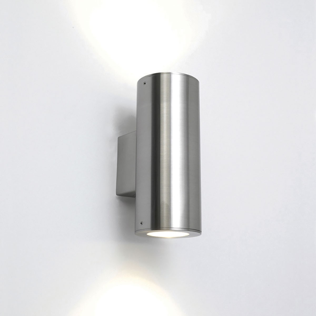 Astro detroit twin brushed stainless steel outdoor wall light at uk astro detroit twin brushed stainless steel outdoor wall light aloadofball Image collections