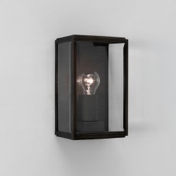 Astro Homefield Black Outdoor Wall Light