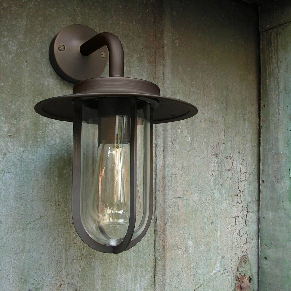 Astro montparnasse wall bronze outdoor wall light at uk for Astro lighting