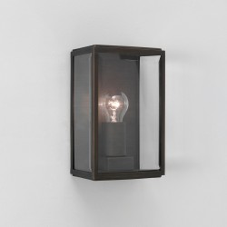 Astro Homefield Bronze Outdoor Wall Light