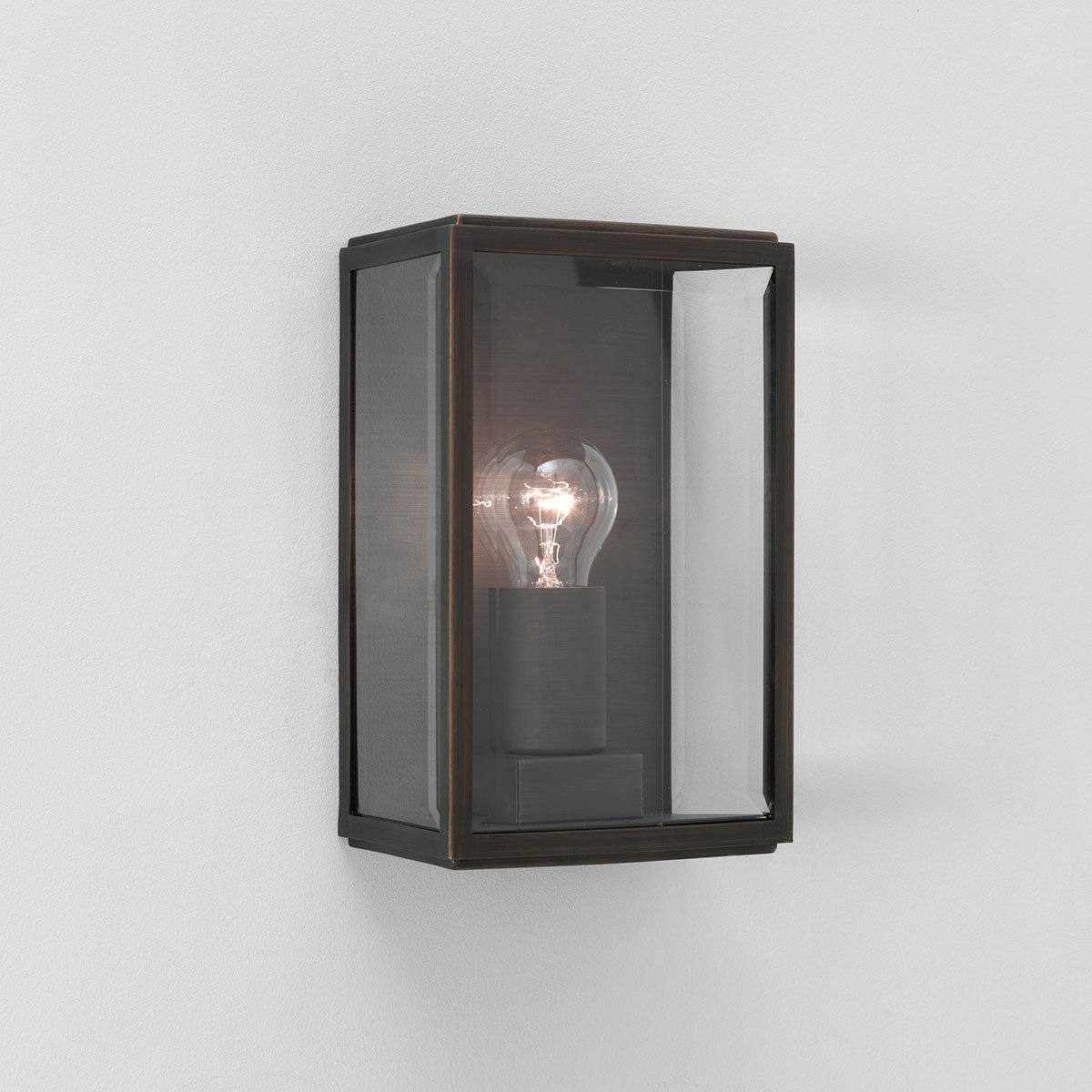 Luxury Exterior Wall Lights : Astro Homefield Bronze Outdoor Wall Light at UK Electrical Supplies.
