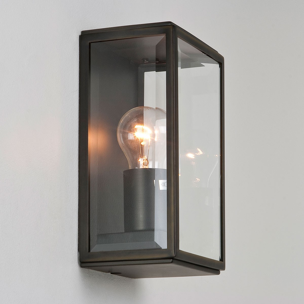 Astro Homefield Bronze Outdoor Wall Light At UK Electrical Supplies