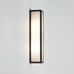 Astro Salerno Black Outdoor Wall Light
