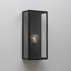 Astro Messina 160 Textured Black Outdoor Wall Light