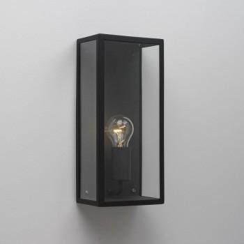 Astro Messina 160 Textured Black Outdoor Wall Light