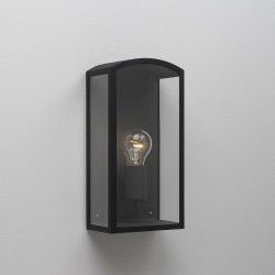 Astro Emilia Black Outdoor Wall Light
