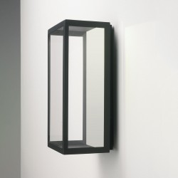 Astro Puzzle Black Outdoor LED Wall Light