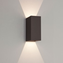 Astro Oslo 160 Textured Black Outdoor LED Wall Light