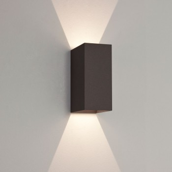 Astro Oslo 160 Black Outdoor LED Wall Light