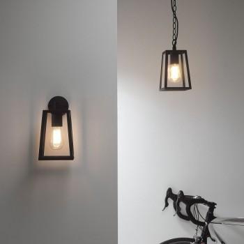 Astro Calvi Wall Black Outdoor Wall Light